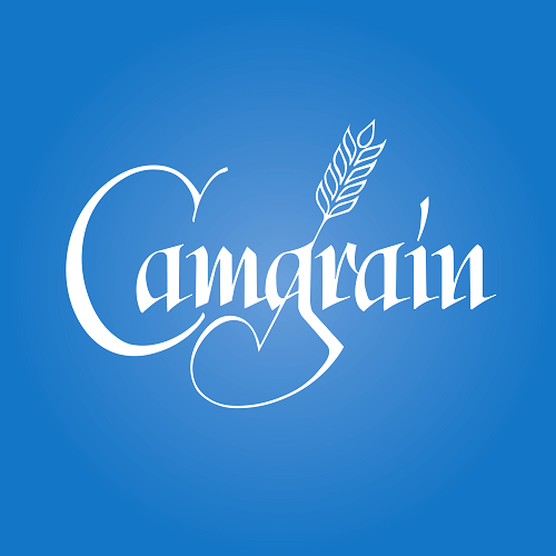 Camgrain logo blue